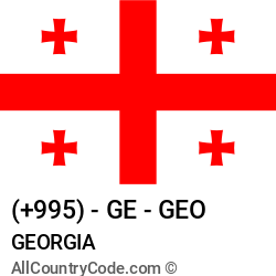 Georgia Country and phone Codes : +995, GE, GEO