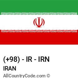 Iran Country and phone Codes : +98, IR, IRN