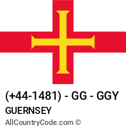 Guernsey Country and phone Codes : +44-1481, GG, GGY