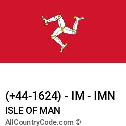 Isle of Man Country and phone Codes : +44-1624, IM, IMN