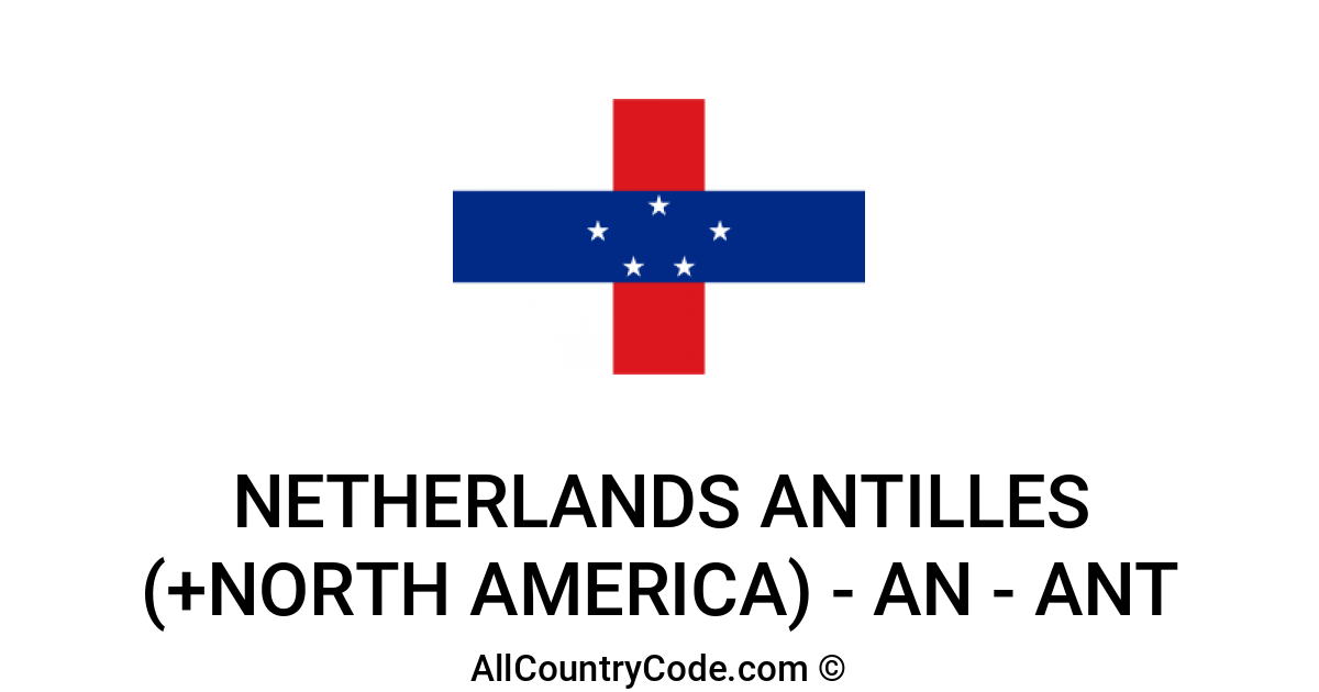Netherlands antilles country code